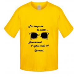 T-shirt enfant - Lunette cool