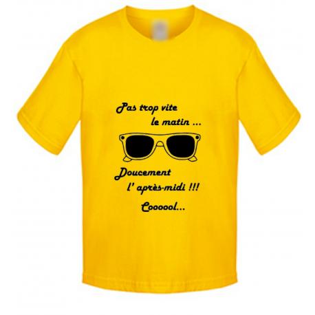 T-shirt enfant - Lunette cool