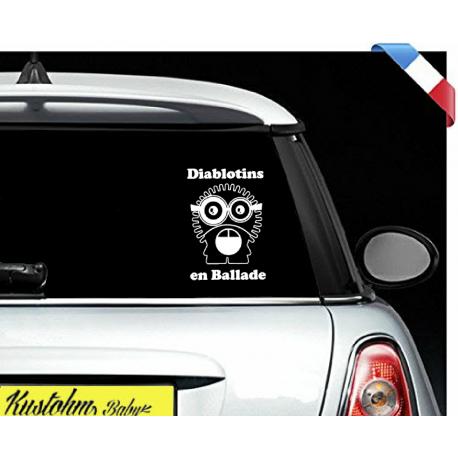 """Sticker """"bébé/enfant à bord"""" - Diablotins"""