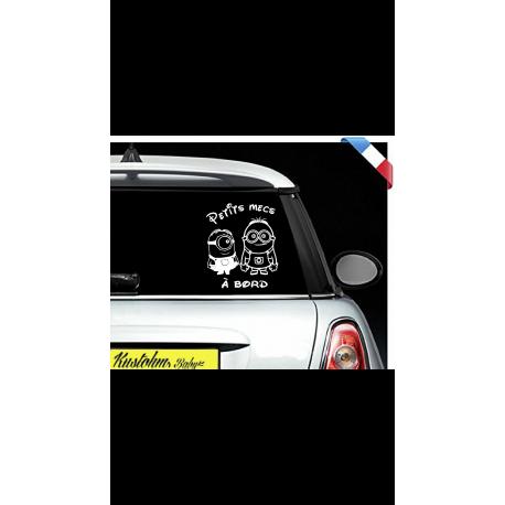 """Sticker """"bébé/enfant à bord"""" - Minions"""