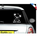 """Sticker """"bébé/enfant à bord"""" - Koala"""