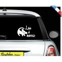 """Sticker """"bébé/enfant à bord"""" - Roi lion"""